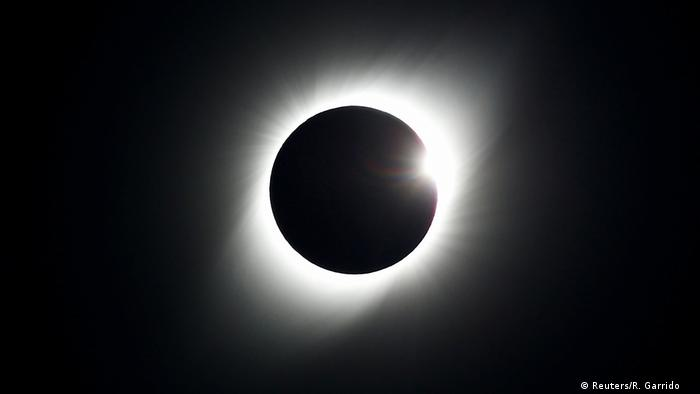 A total solar eclipse, observed from Coquimbo, Chile on 29 July 2019.