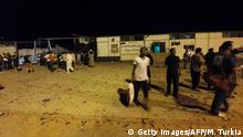 Libyen Luftangriff Tajoura Detention Center bei Tripolis