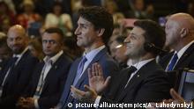 Der Ukrainische Präsident Volodymyr Zelensky zu Besuch in Kanada