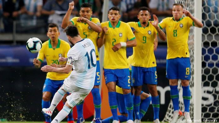 Copa America Brazil 2019 - Semi Final - Brazil v Argentina (Reuters/L. Gonzalez)