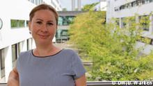 Porträtfoto der Deutschlehrerin Aneta aus Polen