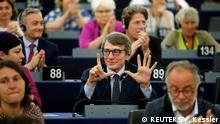 Der italienische Europaabgeordnete David-Maria Sassoli (S&D-Fraktion)