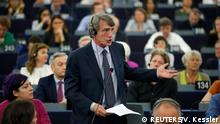 Der italienische Abgeordnete David-Maria Sassoli (S&D-Fraktion)