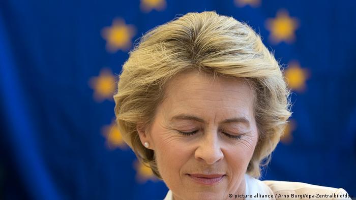 Ursula von der Leyen, provável presidente da Comissão Europeia