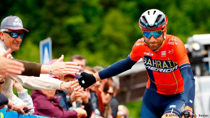 Radsport | Vincenzo Nibali | Giro d'Italia (AFP/Getty Images/L. Benies)