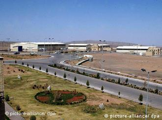 Die iranische Atomforschungsanlage Natans (Foto: dpa)