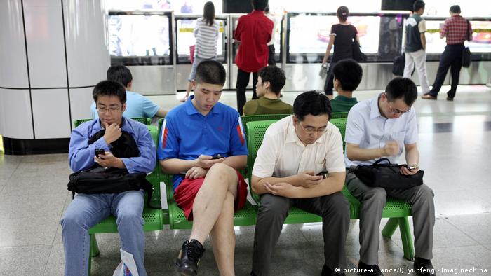 Smartphone User in China