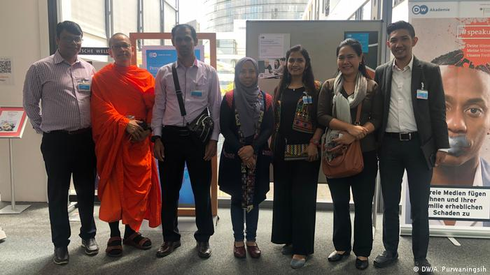Religion and Media Program conducted by Deutsche Welle Akademie (DW/A. Purwaningsih)