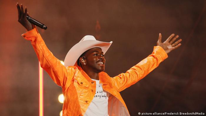 Lil Nas X (picture-alliance/Frederick Breedon/AdMedia)