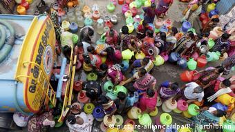 Global Ideas Chennai Wassermangel