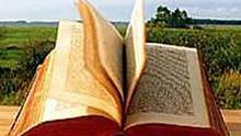 Buch auf dem Lande