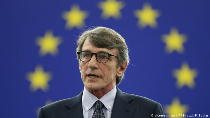 Neuer Präsident des EU-Parlaments David Sassoli (picture-alliance/AP Photo/J.-F. Badias)