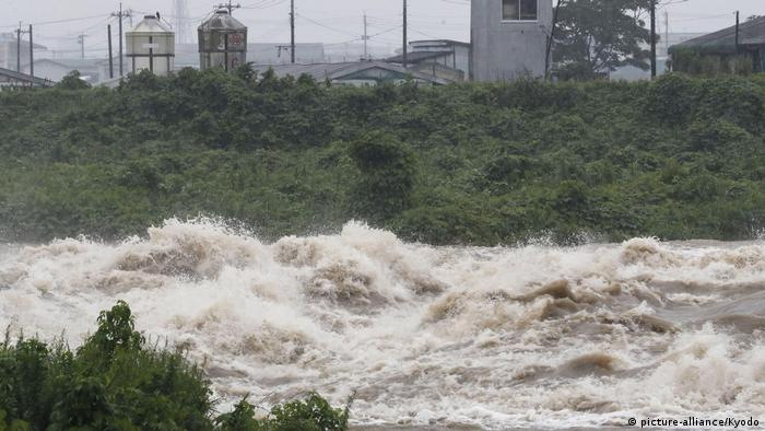 The Oyodo River in Miyazaki prefecture