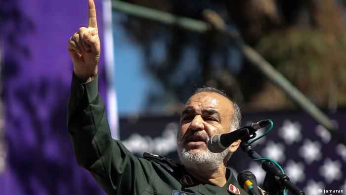Глава иранской революционной гвардии Хоссейн Салами