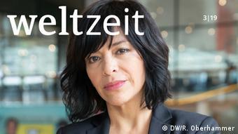 """Titel Weltzeit 3-2019: """"Es gibt keine Unantastbaren"""" – DW Freedom of Speech Award für Anabel Hernández"""