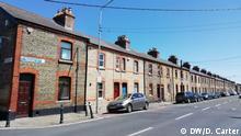 Irland Dublin Häuser in Stoneybatter
