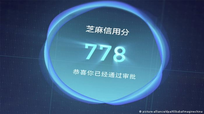 Symbolbild Alibaba credit scoring