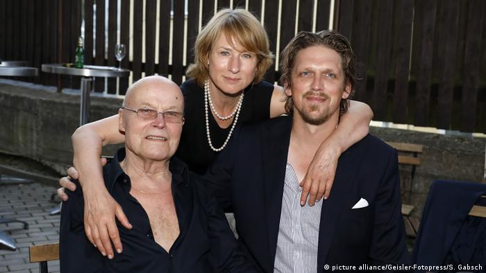 Corinna Harfouch mit Regisseur Gerster und Darsteller Volkmar Kleinert