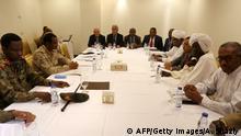 Sudan Treffen zwischen Vertretern des Militärrats und der Demonstranten in Khartum