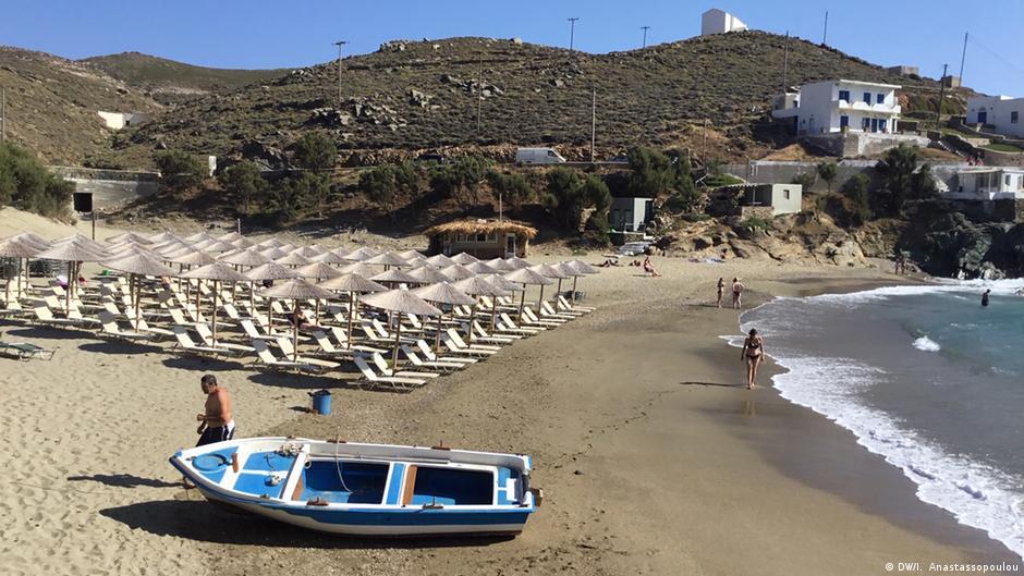 Griechenland Tourismus Kolymbitra