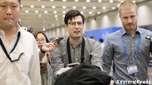 China Alek Sigley, australischer Student, vorher in Nordkorea in Haft
