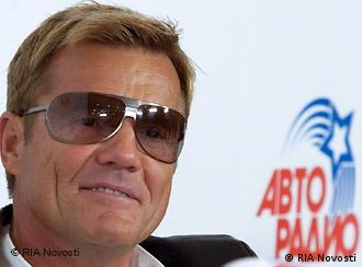 German musician, musical producer and composer Dieter Bohlen at a news conference in Olimpiysky Arena during Autoradio's festival Disco of the 80s. RIA Novosti 27.11.2009