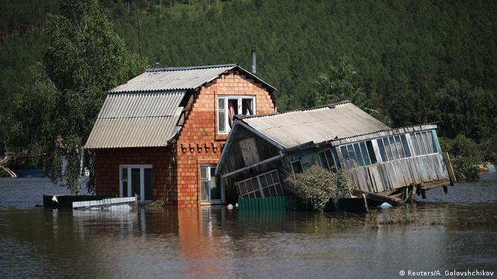 Russland Überschwemmungen in Sibirien, Irkutsk