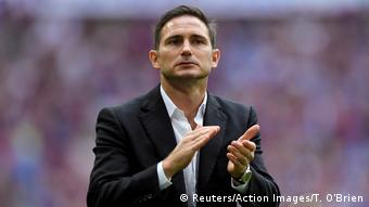 Großbritannien Fußball | Frank Lampard, Trainer Derby County (Reuters/Action Images/T. O'Brien)