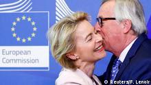 Brüssel EU | Ursula von der Leyen & Jean-Claude Juncker, EU-Kommissionspräsident