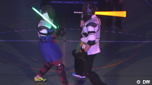 Training to be a Jedi in Moscow′s lightsaber school | World