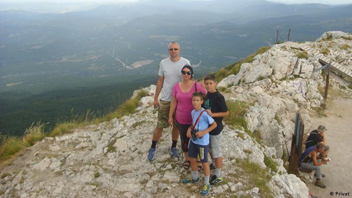 Porodica Ćujić na odmoru