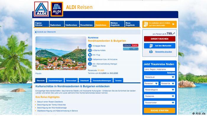 """Европскиот џин """"Алди-патувања"""" нуди патувања во Охрид и Македонија"""