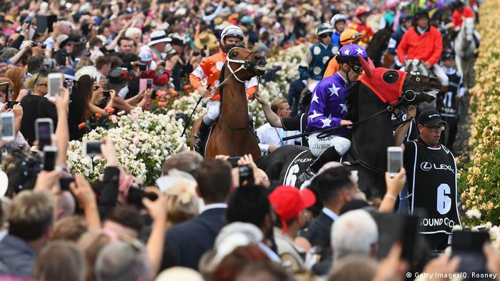 Australien 2018 Melbourne Cup Day (Getty Images/Q. Rooney)