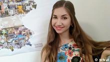 TitelLehrerporträt Anna aus der Ukraine BeschreibungPorträtfoto der Deutschlehrerin Anna aus der Ukraine CopyrightPrivat