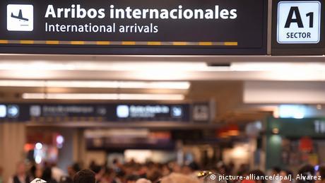 Aeropuerto de Ezeiza (Ministro Pistarini) en Buenos Aires.