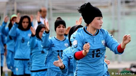 <div>'We've said goodbye to the women's team': Fears in Afghanistan for future of women's football</div>