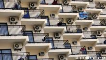 Spanien Hotel mit Klimaanlagen in Benidorm