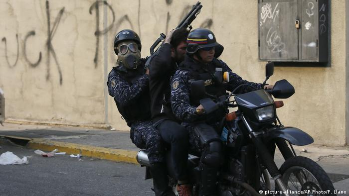 Venezuela Krise Polizei