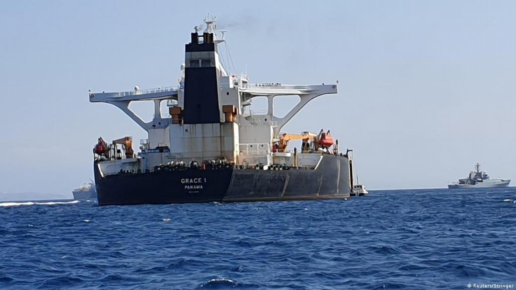 Gibraltar detains oil tanker headed for Syria | News | DW