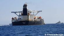 Öltanker auf dem Weg nach Syrien in Gibraltar festgesetzt
