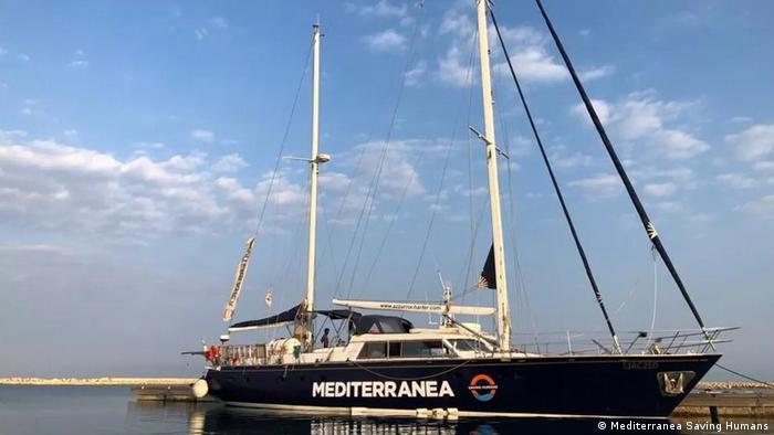 Segelrettungschiff der NGO Mediterranea Saving Humans (Archivbild)