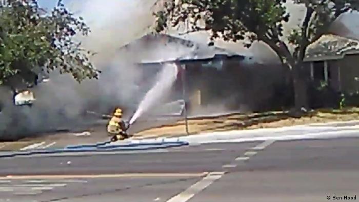 В декількох будинках після землетрусу спалахнули пожежі
