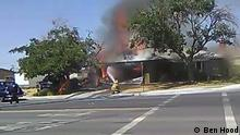 Kalifornien Ridgecrest Erdbeben Feuer