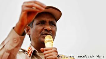 Генерал Мохаммед (Хамидти) Дагало, июнь 2019 года