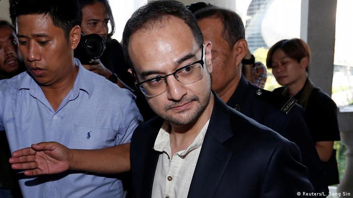 Malaysia Kuala Lumpur Gericht Anhörung Riza Aziz