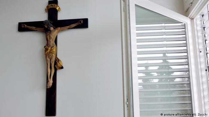 German priest causes church walkout as preaches for predator priest