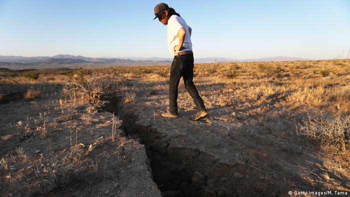 USA Ridgecrest Erdbeben in Kalifornien (Getty Images/M. Tama)