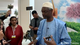 UNCCD Leiter Ibrahim Thiaw (DW/K. Tiassou)