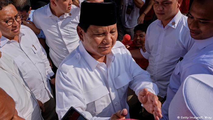 Indonesien Politiker Prabowo Subianto (Getty Images/E. Wray)