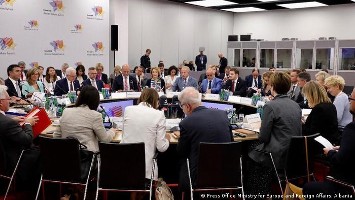 Takimi i ministrave të jashtëm të Procesit të Berlinit në Poznan të Polonisë, korrik 2019